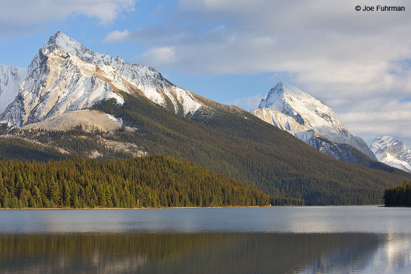 Maligne Lake Jasper National Park, AB, Canada Oct. 2013