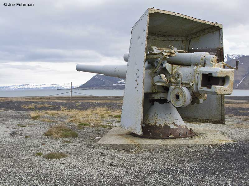 Nazi Cannon Longyearbyen-Svalbard, Norway June 2008