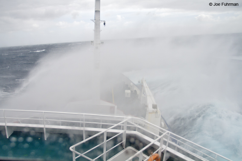Rough seas on the Drake Passage Nov. 2010