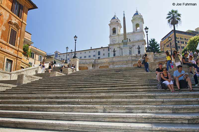 Spanish Steps Rome, Italy June 2010