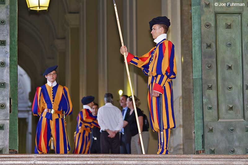 Swiss Guard-Vatican Rome, Italy June 2010