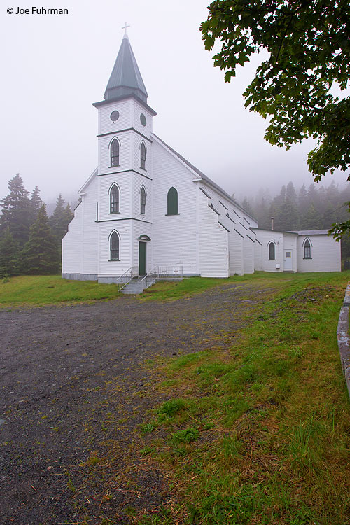 Old church, The Cribbies-Tors Cove, Newfoundland, Canada August 2011