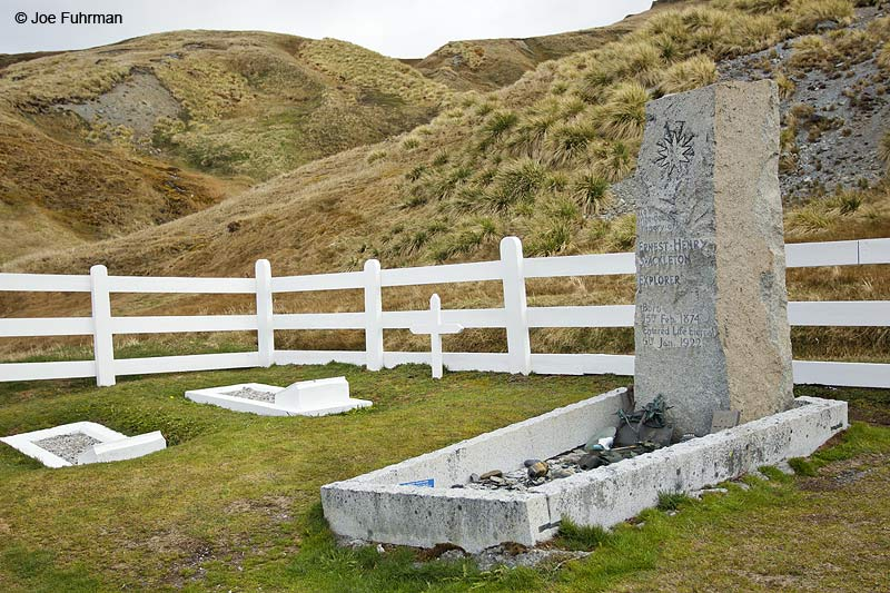 Shakleton's graveGrytviken, South Georgia Island Nov. 2010