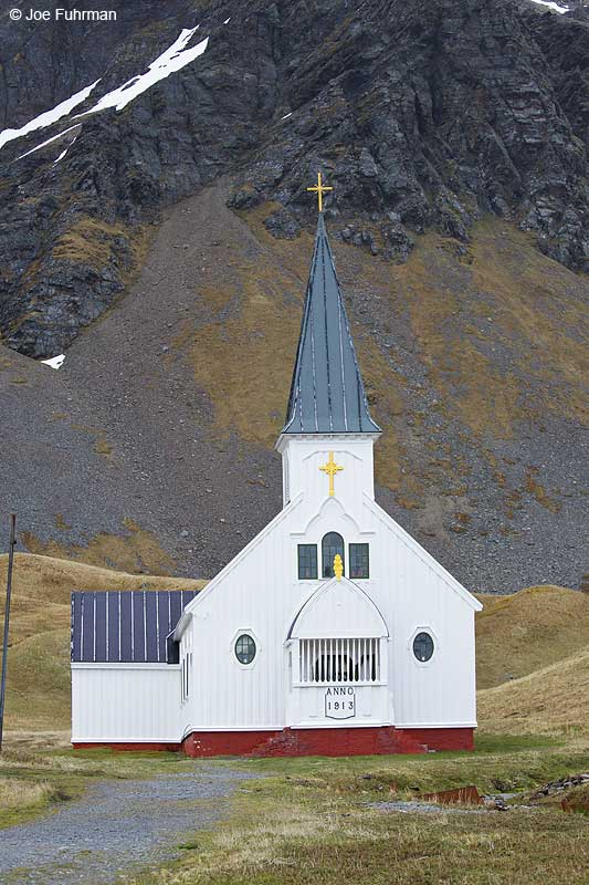 Norwegian churchGrytviken, South Georgia Island Nov. 2010