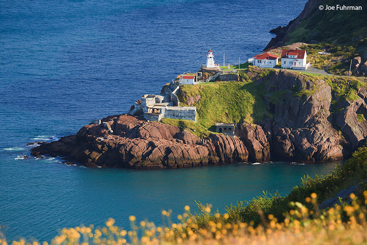 Fort Amherst Lighthouse Newfoundland, Canada August 2011