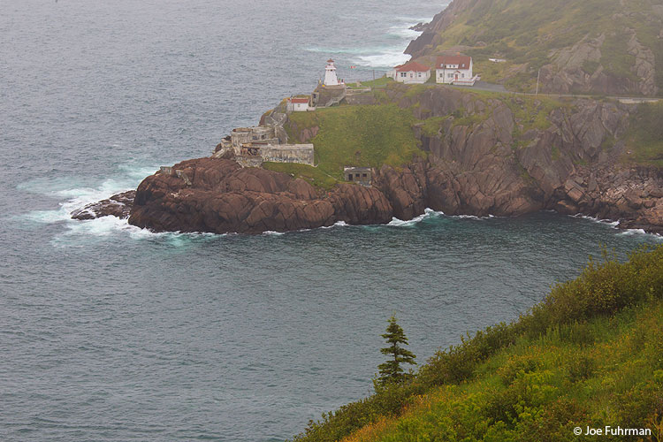Fort Amherst Lighthouse St. John's, Newfoundland, Canada August 2011