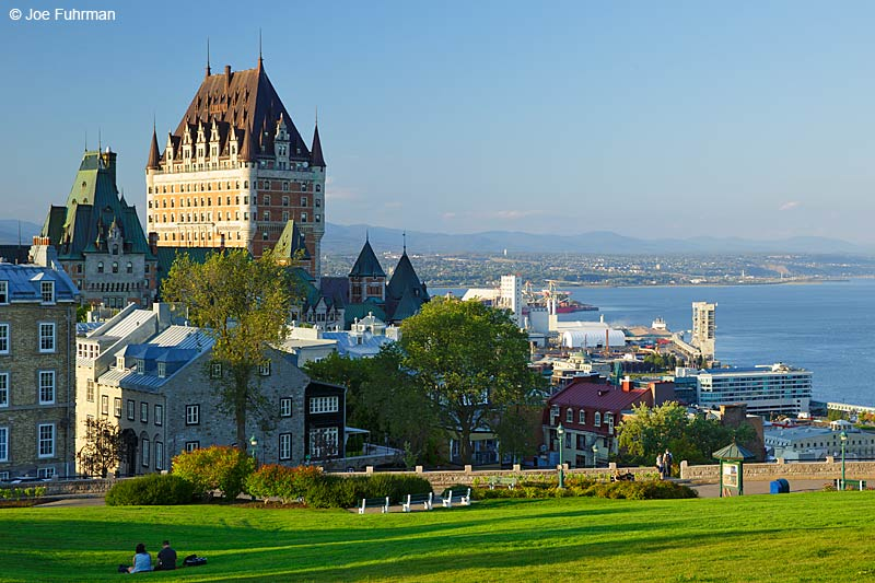 Le Chateau FrontenacQuebec City, Canada September 2015
