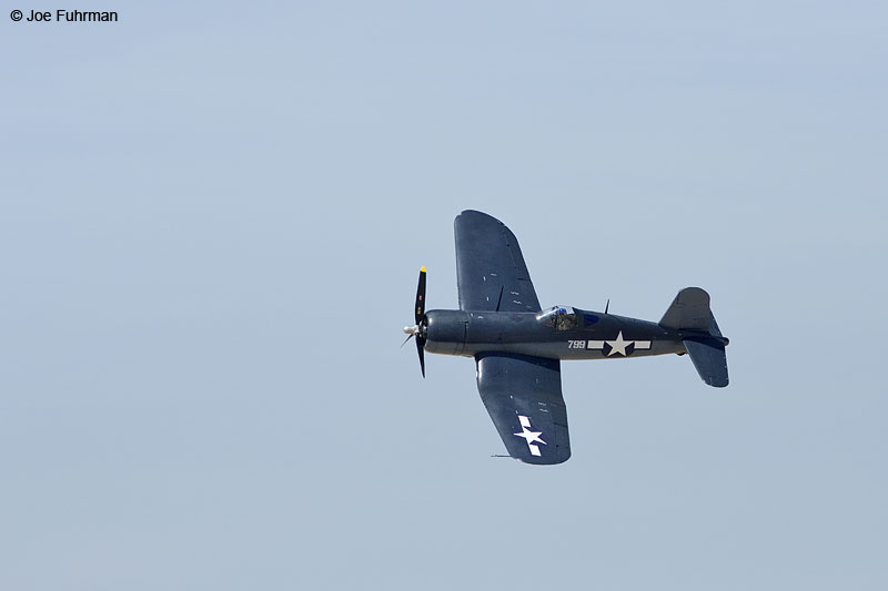 F4U-1 CorsairL.A. County Air ShowLancaster, CA March 2014