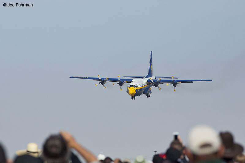 "Lockheed C-130-""Fat Albert""L.A. County Air ShowLancaster, CA March 2014"