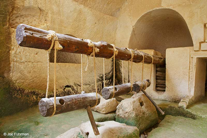 Ancient olive press-Beit Guvrin National Park, IsraelMarch 2016
